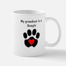 My Grandson Is A Beagle Mugs