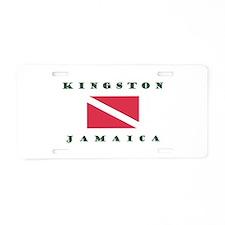 Kingston Jamaica Scuba Dive Aluminum License Plate