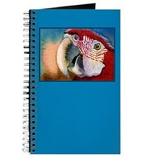 SCARLET RED MACAW PARROT Journal