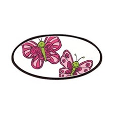 Pink Butterflies Patches