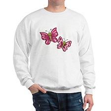Pink Butterflies Jumper