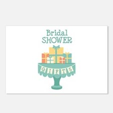 Bridal SHOWER GIFTS Postcards (Package of 8)
