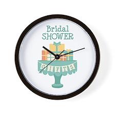 Bridal SHOWER GIFTS Wall Clock