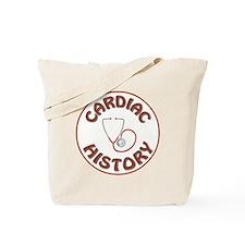 CARDIAC HISTORY Tote Bag