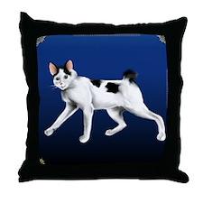 JapaneseBobtail Throw Pillow