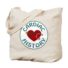 CARDIAC HISTORY Tote Bag