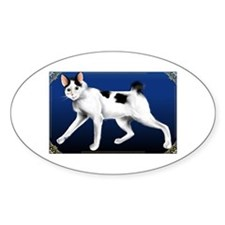 JapaneseBobtail Oval Decal
