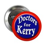Doctors for Kerry Button (10 pack)
