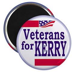 Veterans for Kerry Magnet (100 pack)