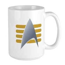 Alt Starfleet Captain Insignia Mug