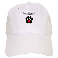 My Granddaughter Is A Great Dane Baseball Baseball Cap