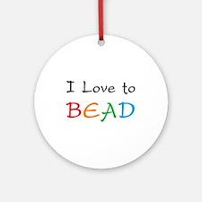love bead Ornament (Round)