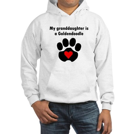 My Granddaughter Is A Goldendoodle Hoodie