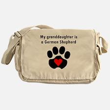 My Granddaughter Is A German Shepherd Messenger Ba