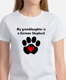My Granddaughter Is A German Shepherd T-Shirt