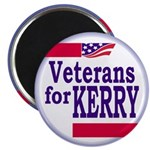 Veterans for Kerry (magnet)