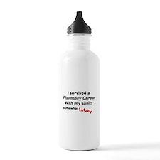 Retired Pharmacist Sanity Intact Water Bottle