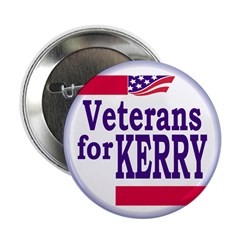 Veterans for Kerry (Button)
