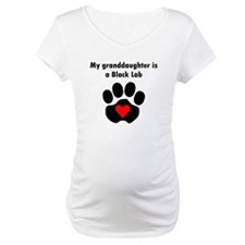 My Granddaughter Is A Black Lab Shirt