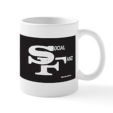 Social-Fanz Logo Mugs