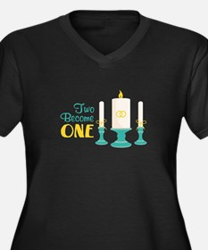 Two Become ONE Plus Size T-Shirt