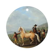 Horse Trading Ornament (Round)