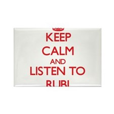 Keep Calm and listen to Rubi Magnets