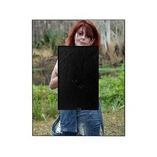 Topless Woman Outdoors Picture Frame