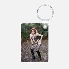 Sexy Redhead Wearing Linge Keychains