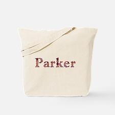 Parker Pink Flowers Tote Bag
