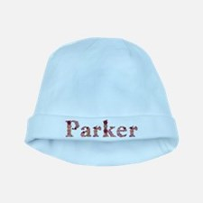 Parker Pink Flowers baby hat