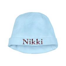 Nikki Pink Flowers baby hat
