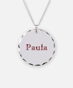 Paula Pink Flowers Necklace