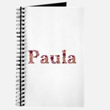 Paula Pink Flowers Journal