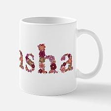 Natasha Pink Flowers Mugs