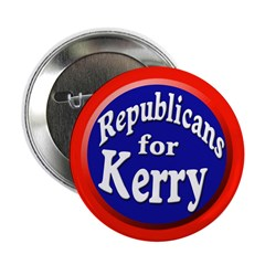 Republicans for Kerry Button (10 pack)