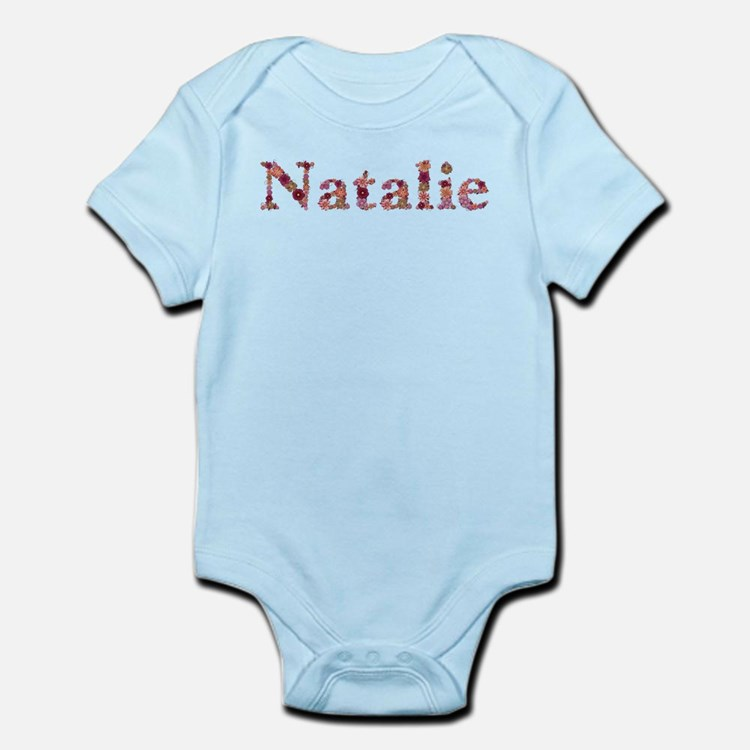 Natalie Pink Flowers Body Suit