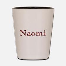 Naomi Pink Flowers Shot Glass