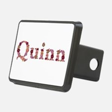 Quinn Pink Flowers Hitch Cover