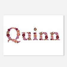 Quinn Pink Flowers Postcards 8 Pack