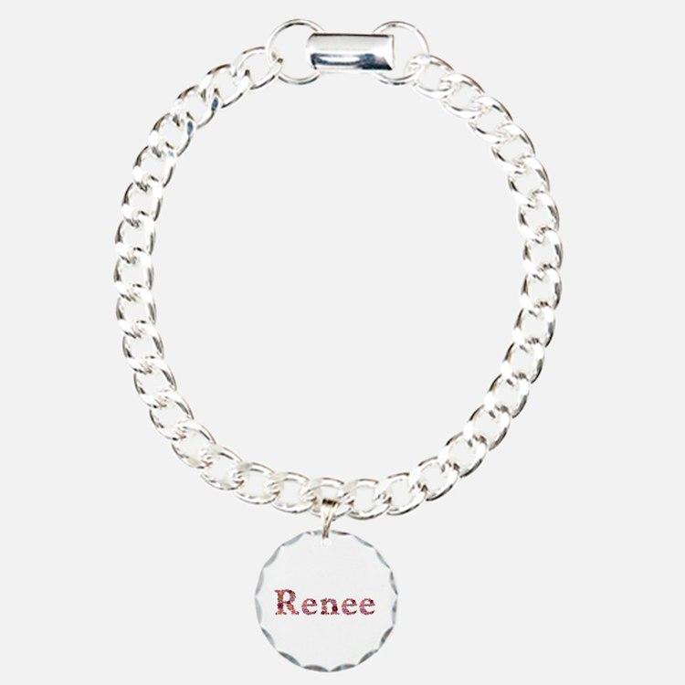 Renee Pink Flowers Bracelet