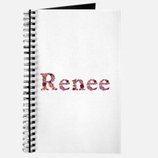 Renee Pink Flowers Journal