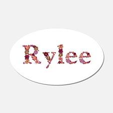 Rylee Pink Flowers Wall Decal
