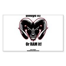Dodge it! Decal