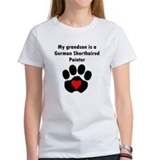 My Grandson Is A German Shorthaired Pointer Women'