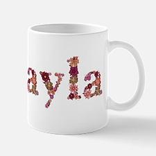 Mikayla Pink Flowers Mugs