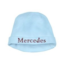 Mercedes Pink Flowers baby hat
