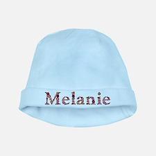 Melanie Pink Flowers baby hat