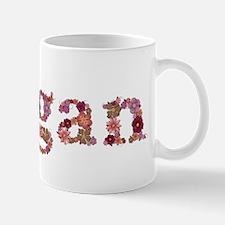 Megan Pink Flowers Mugs