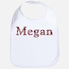 Megan Pink Flowers Bib